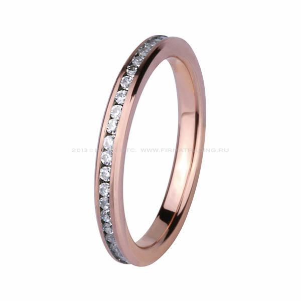 золотые кольца с цирконием