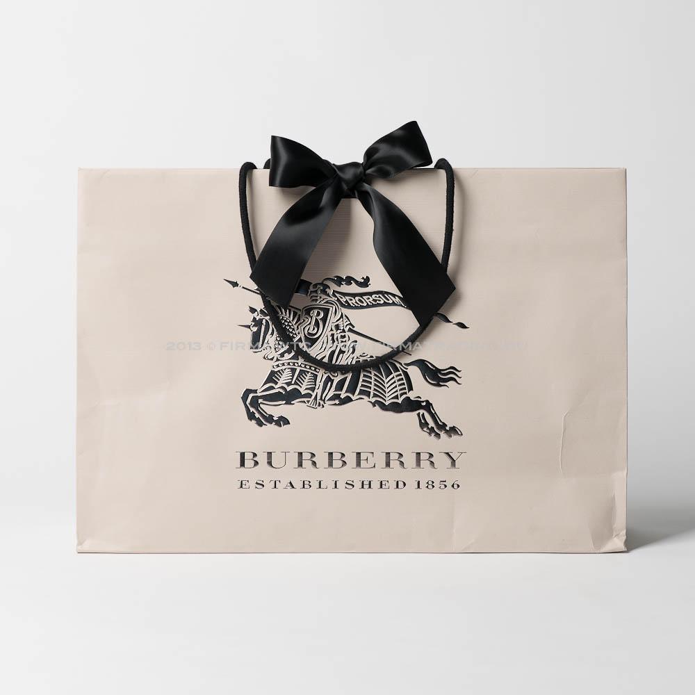 Производство бумажных пакетов с логотип