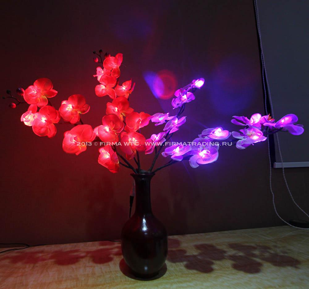 Светящиеся цветы деревья