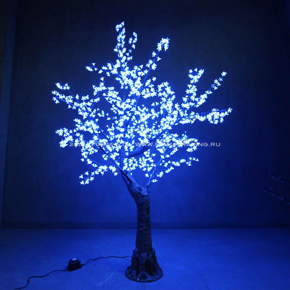 Дерево светящееся своими руками фото
