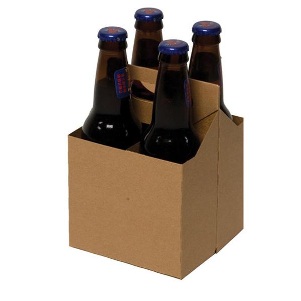 Коробка для пива из картона